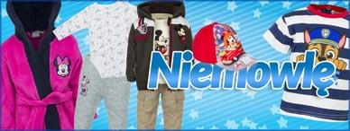 Disney odzież dla niemowląt