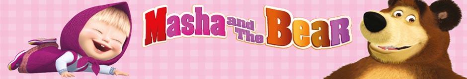 Masha i Niedźwiedź produkty i ubranka dla dzieci hurtownia.