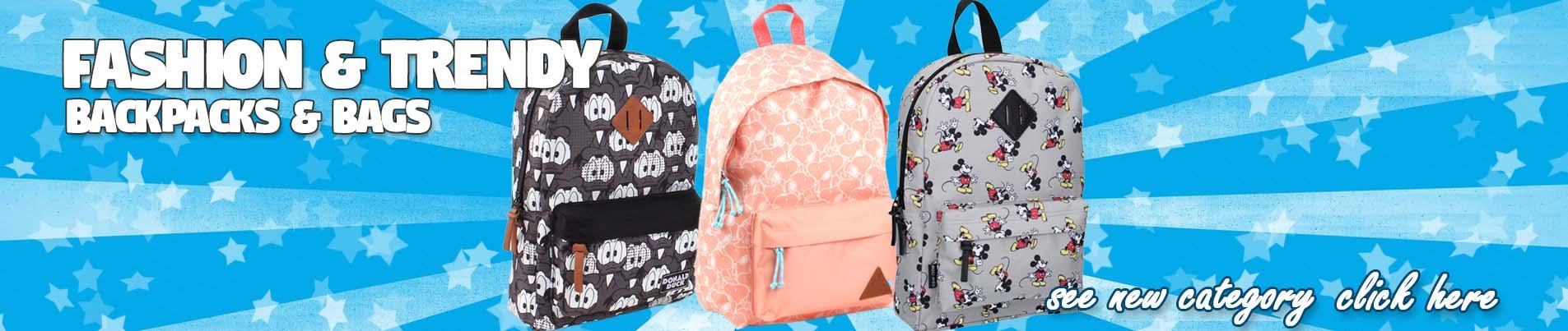 Modne trendy plecaki i torby dla dzieci hurtownia