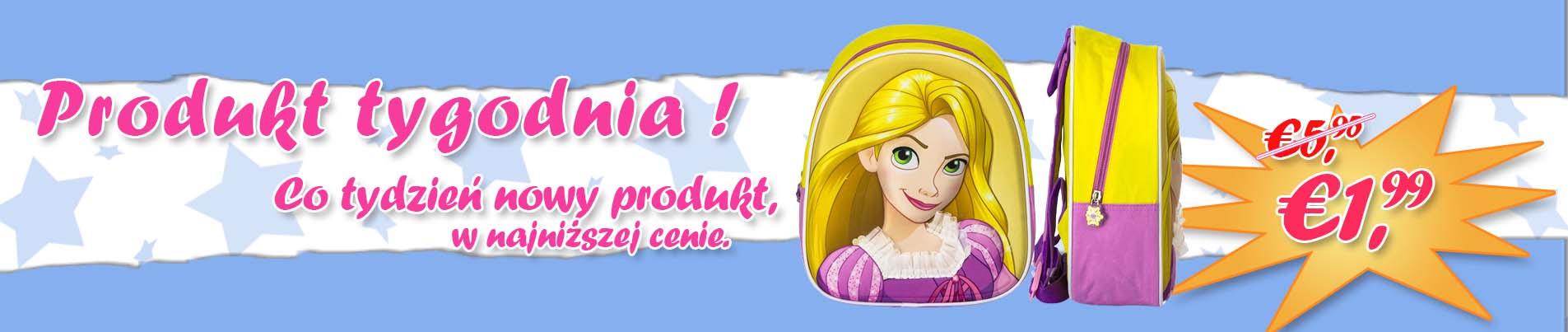 Plecaki 3D Disney Princess Hurtownia